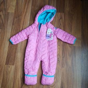 Snozu Infant snow suit 9-12 mnths